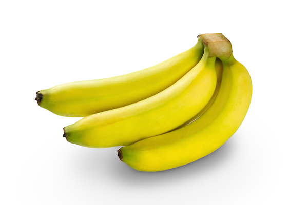 Bunch of bananas, Isolated over white
